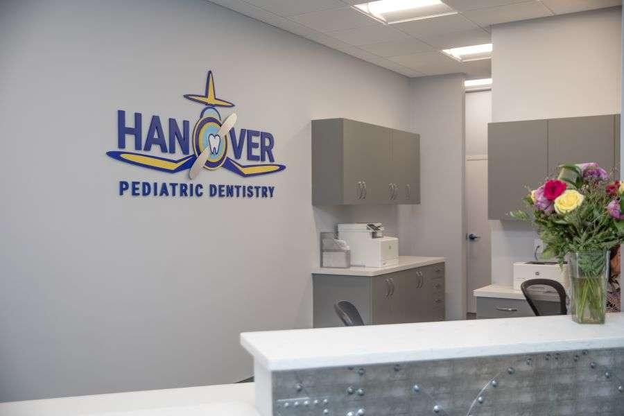 Hanover Pediatric Dentistry wall logo