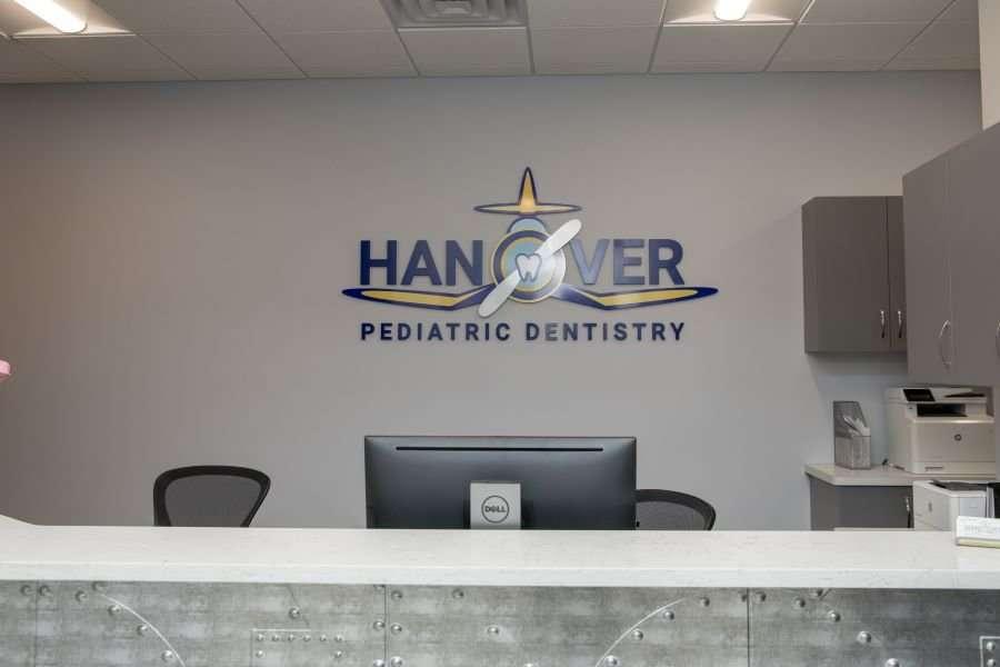 Hanover Pediatric Dentistry front desk